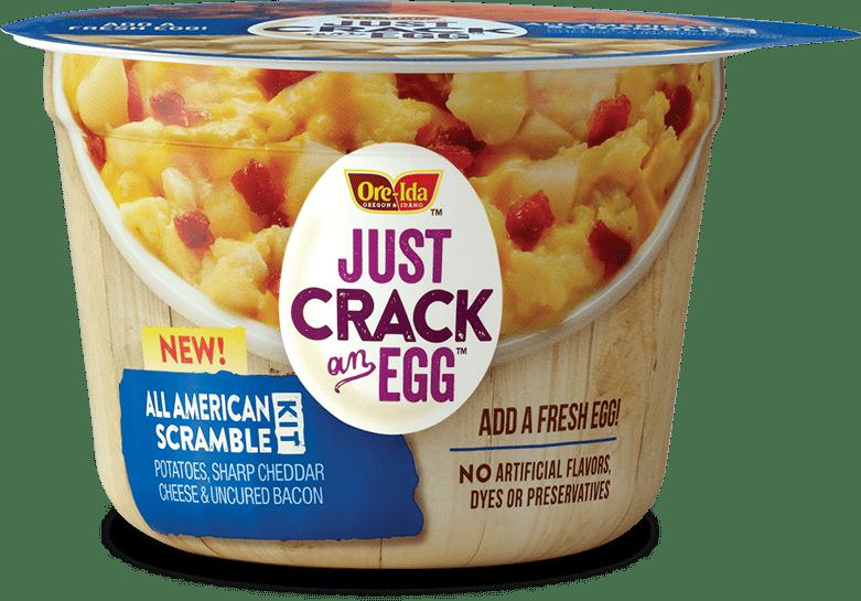 ore ida just crack an egg