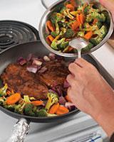 Pan-roasting