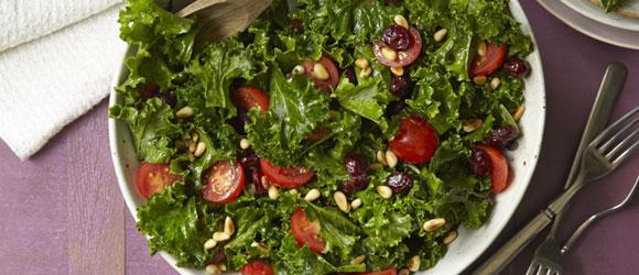 Cranberry-Kale Salad