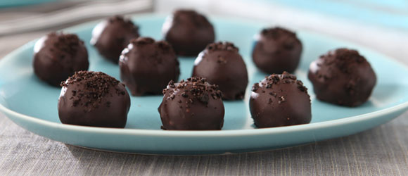 Easy Chocolate Cookie Truffles