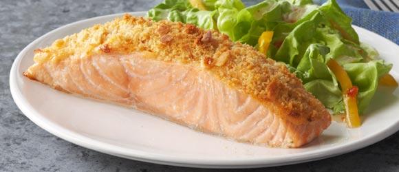 Parmesan Baked Salmon Recipe
