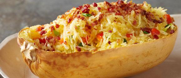 Tex-Mex Spaghetti Squash Boat