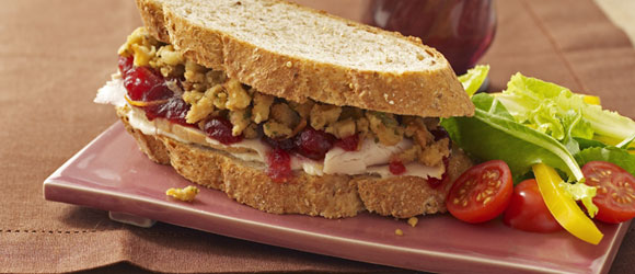 The Ultimate Leftover Turkey Sandwich