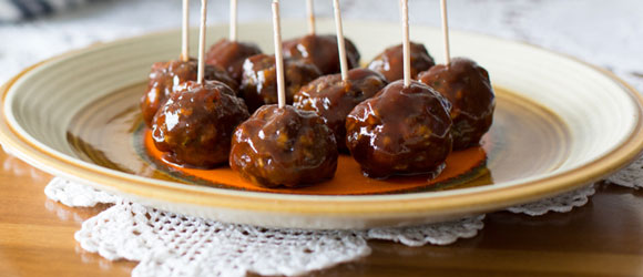 Easy Game-Day BBQ Meatballs