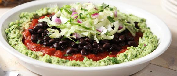 Guacamole-Style Edamame Dip