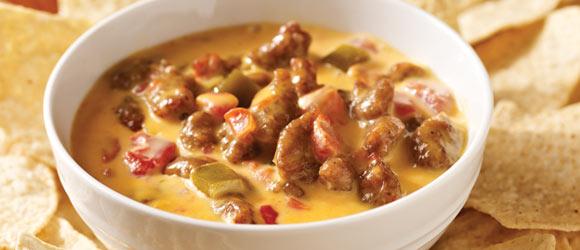 VELVEETA® Spicy Sausage Dip