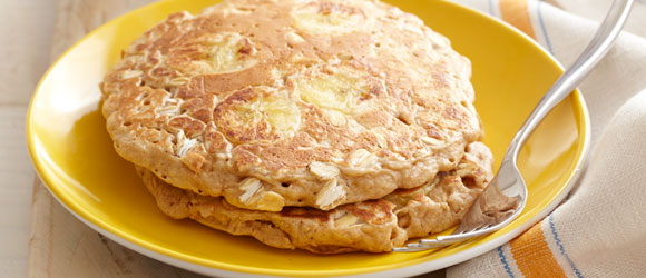 Fresh Banana Pancakes