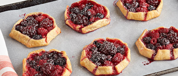Mini Mixed Berry Tarts