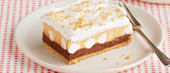 No-Bake Chocolate-Peanut Butter Dessert