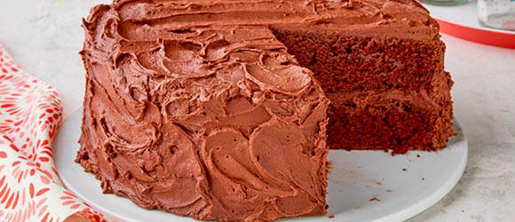BAKER'S ONE BOWL Chocolate Cake Recipe