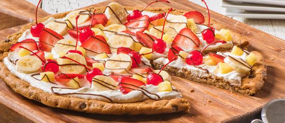 Banana Split-Fruit Pizza