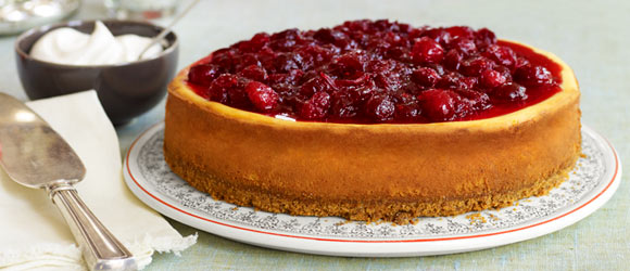 Cinnamon & Cranberry Cheesecake