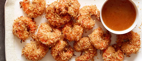 Coconut Shrimp with Sweet & Spicy Dipping Sauce