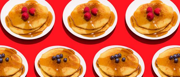 Lemon-Sour Cream Pancakes