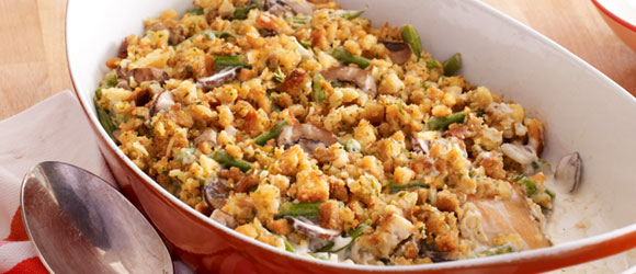 Make-Ahead Chicken & Green Bean Casserole