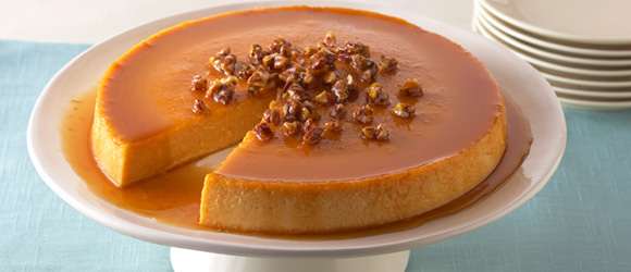Pumpkin-Cream Cheese Flan