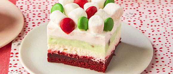 Red Velvet Dessert Lasagna