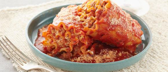 Simple Lasagna Roll-Ups
