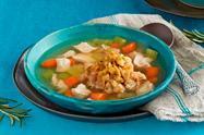 Turkey & 'Dumpling' Soup