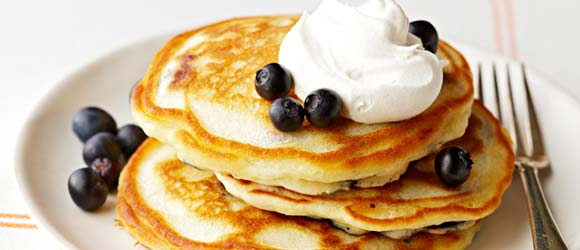 Easy Blueberry Pancake Recipe