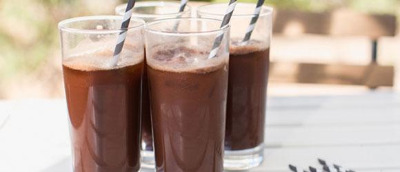 Iced Chocolaccino