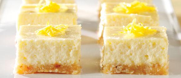 PHILADELPHIA 3-Step Lemon Cheesecake Bars