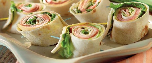 Pinwheel Mini Sandwiches