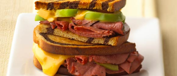 Roast Beef Grilled Cheese