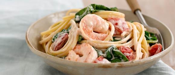 Shrimp In Love Pasta