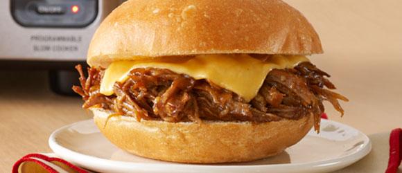Slow-Cooker BBQ Pork Sandwiches