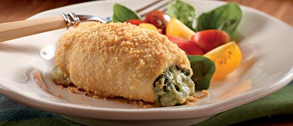 Spinach-Stuffed Chicken Bundles