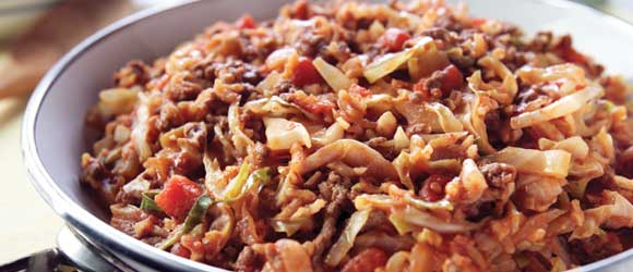 Unstuffed Cabbage Skillet