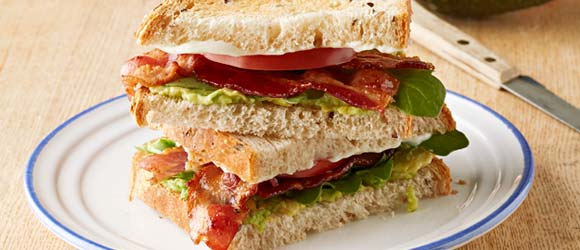 Bacon, Avocado & Tomato Sandwich