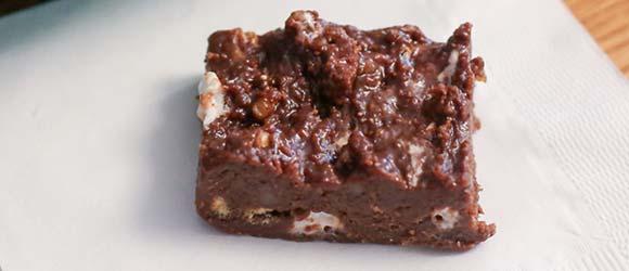 Bake-Not Brownie Bars