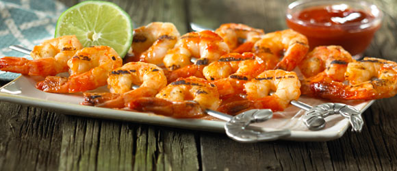 BBQ Shrimp Kabobs