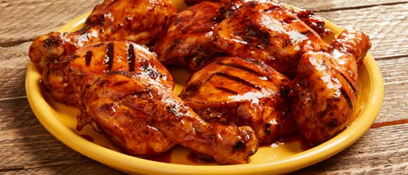 Cherry Cola Barbecued Chicken Legs