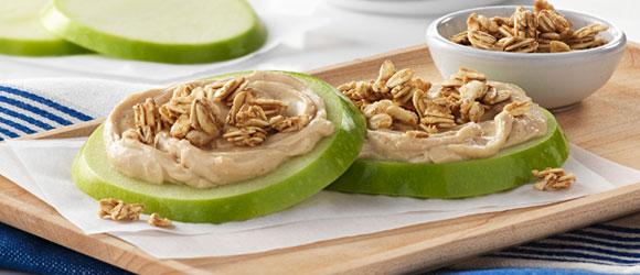 Fresh Apple Crisp Rounds