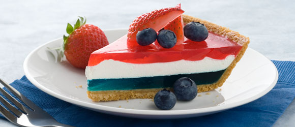 JELL-O Easy Patriotic Pie
