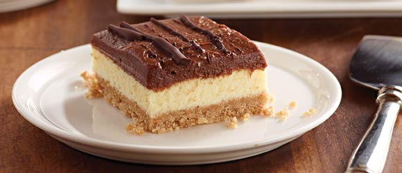 JELL-O No-Bake Chocolate Cheesecake Bars