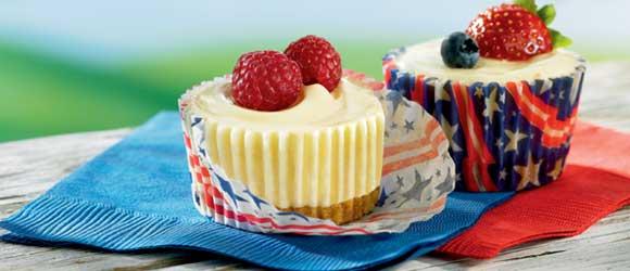 JELL-O No-Bake Mini Cheesecakes