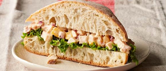 Mango-Chicken Salad Sandwiches