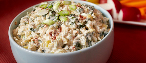 MIRACLE WHIP Creamy Spinach-Artichoke Dish