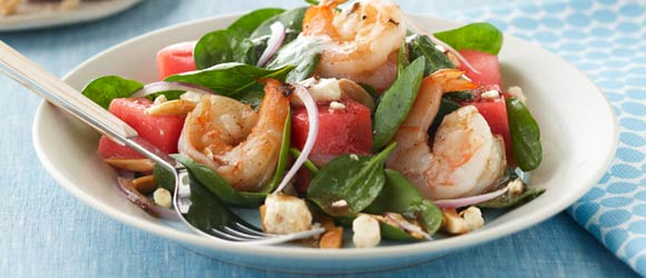 Shrimp & Feta Salad