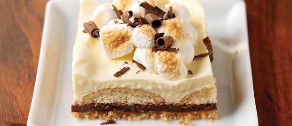 S'mores Dessert Squares