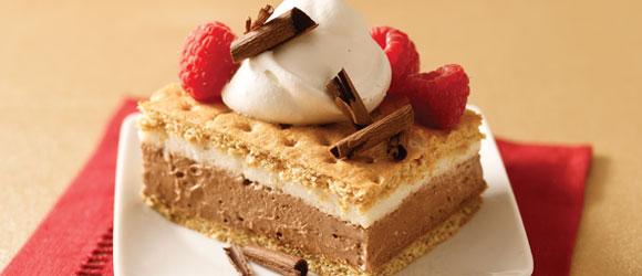 S'mores Pudding Dessert