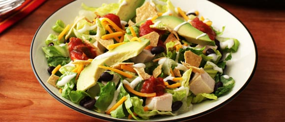 Southwest Chicken Salad with Ranch