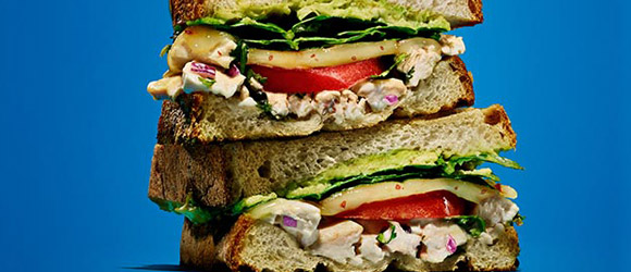 Spicy Chicken Salad Panini Recipe