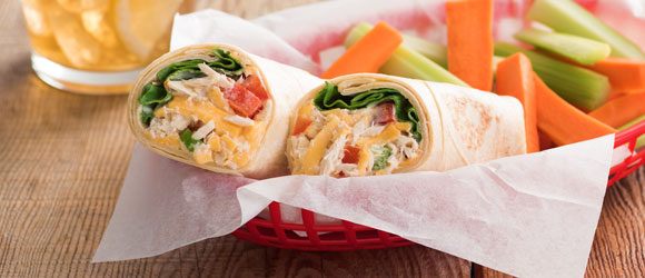 Tortilla Tuna Wraps