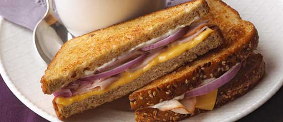 Turkey Grilled Cheese