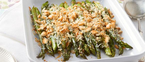 Baked Parmesan Asparagus